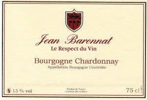 etiq bourgogne chardonay