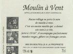 étiquette Moulin a vent